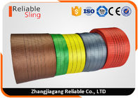 2 Ton Flat Polyester Webbing Textile Sling Webbing Eco Friendly and Coloration