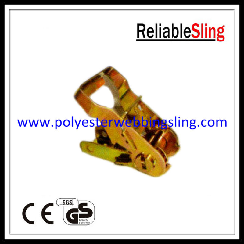 Heavy duty Ratchet Buckle for freight straps , ratchet tie down strap