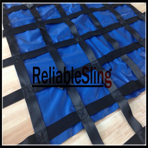 Vehicle Cargo Net Lifting Sling For Packing / 25mm~50mm Cargo Webbing Net