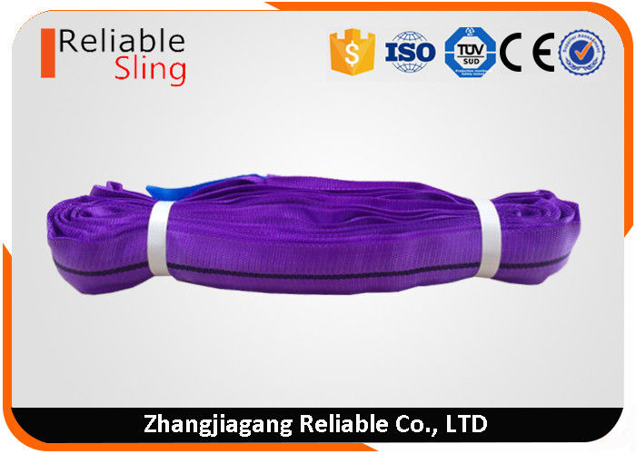 1 Ton Endless Loop Polyester Round Endless Slings Color Code as per En Standard