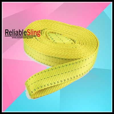 Cina Polyester Rope Snatch Towing Heavy Duty Tow Straps Customized pabrik